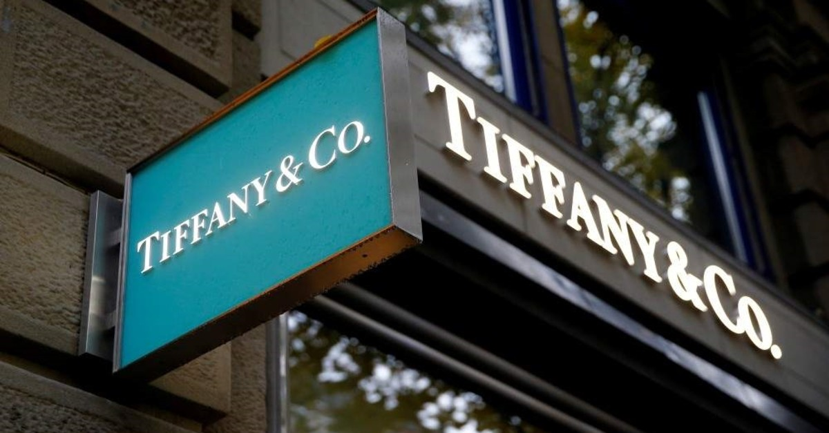 The logo of U.S. jeweler Tiffany & Co. is seen at a store at the Bahnhofstrasse shopping street in Zurich, Switzerland, Oct. 26, 2016. (Reuters Photo)