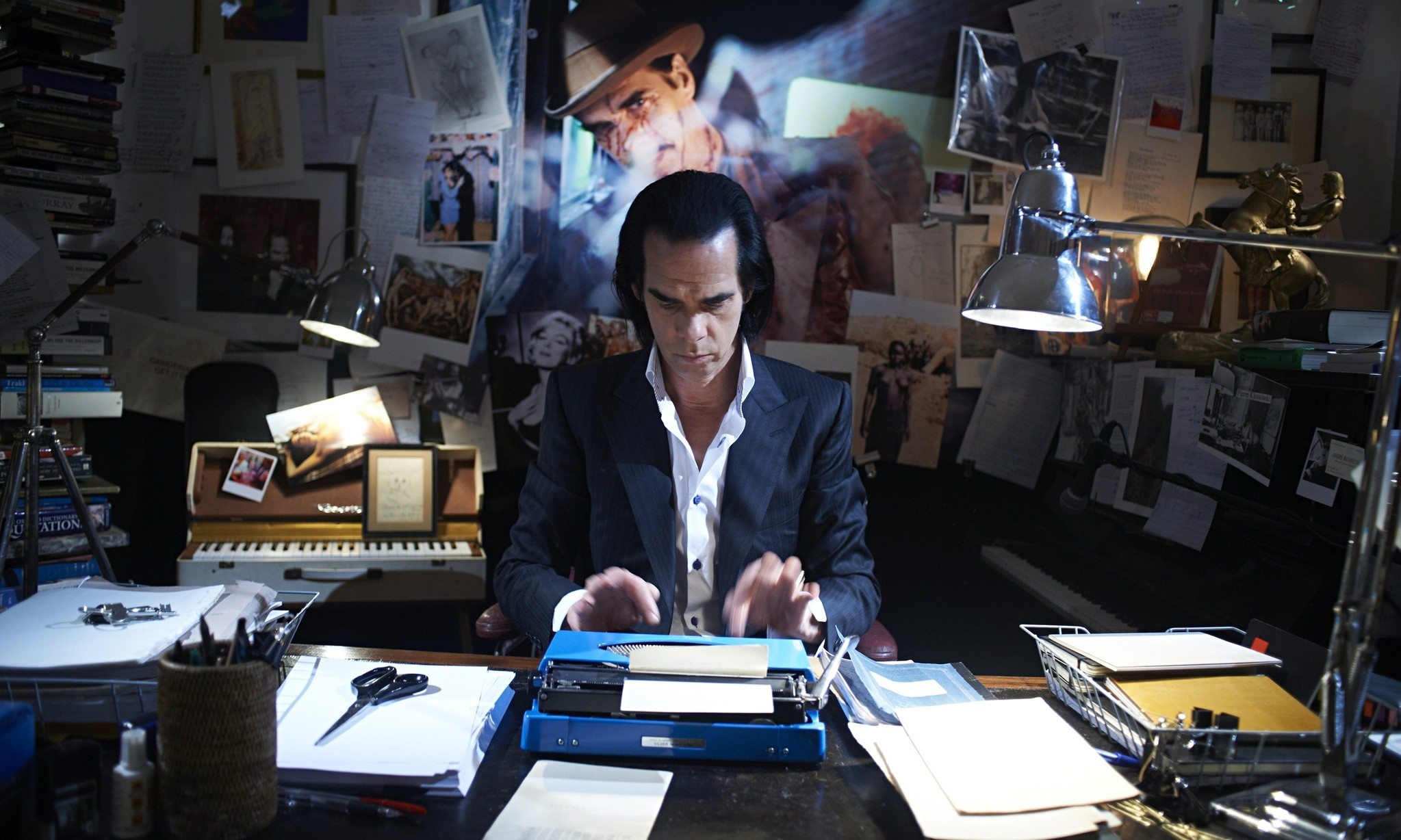 Nick Cave in the film ,20,000 Days on Earth.,