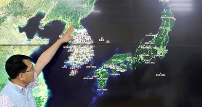 'North Korea's main nuclear site has collapsed'