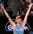 Sharapova knocks Wozniacki out of Australian Open
