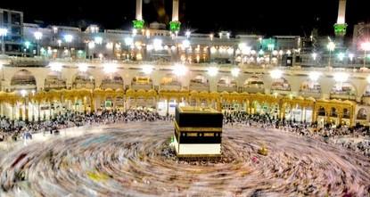 Mekka:Muslimische Wallfahrt beginnt