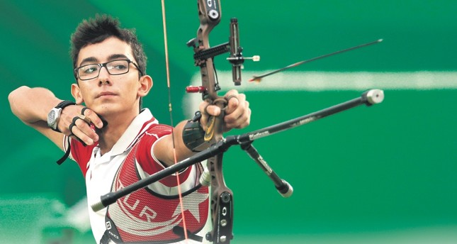 Mete Gazoz won gold medal at the 2018 Archery World Cup in Germany.