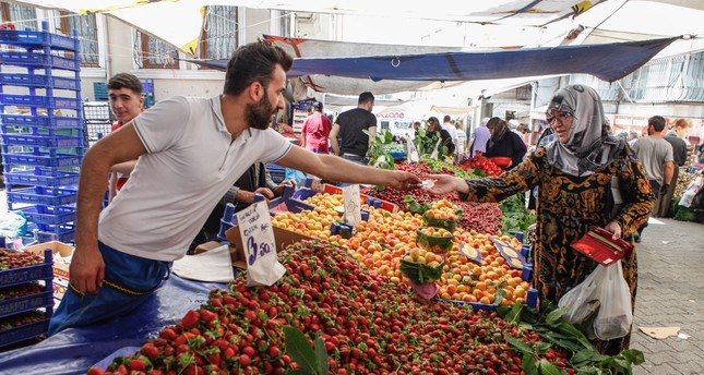 Turkey's annual inflation dropped to 19.67 percent in February from 20.35 percent in January.
