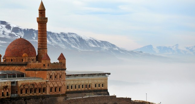 Located on a hill with an altitude of 900 meters, 7 kilometers to the southeast of the district, the palace stands out with its central heating and toilet system.