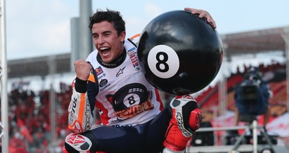 'It's not easy': Marc Marquez seals sixth MotoGP world title with Thailand win