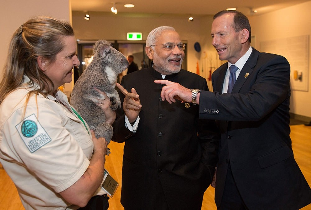 Koala diplomacy warms up G20 summit