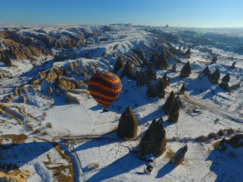 Mt. Erciyes and Cappadocia offer different types of holiday entertainment for the adventure seekers.