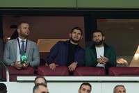 UFC champion Nurmagomedov attends Galatasaray-Real Madrid game in Istanbul
