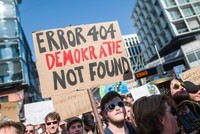 Thousands of people in Germany protest EU internet reforms