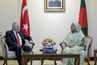 Turkey will continue to provide support to Rohingya refugees, PM Yıldırım says