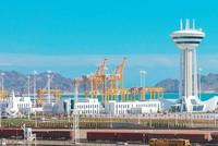 Turkish firm wins prestigious engineering award with Caspian port project in Turkmenistan