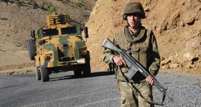 شهيد من الجيش التركي و4 إصابات في هجوم إرهابي شرقي البلاد