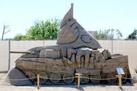"""In Antalya Lara wurde zum elften Mal das internationale """"Sandland Skulpturen Festival"""