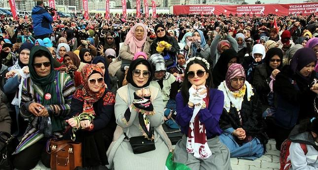 قافلة الضمير في ولاية هطاي التركية - الأناضول