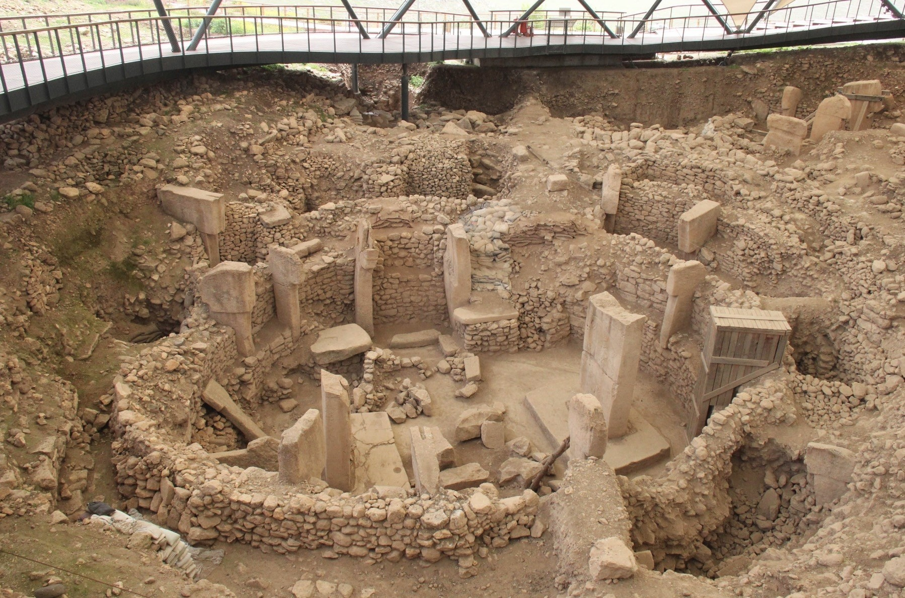 Excavations have been ongoing for about a quarter of a century and when the size of the site is considered, they are expected to continue for another 150 years.