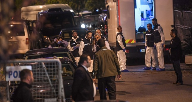 Forensic experts arrive at Saudi Arabia's Consulate in Istanbul to begin searching the premises in the investigation over missing Saudi journalist Jamal Khashoggi, Oct. 15.