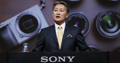 pSony's leader promised a comeback for the Japanese electronics and entertainment company having its best profitability in two decades./p  pWe are a company that moves people, said Chief...