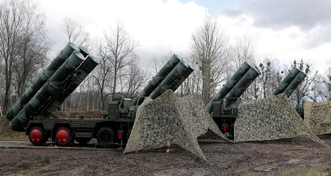 A new S-400 surface-to-air missile system after its deployment at a military base near Kaliningrad, Russia, March 11, 2019.