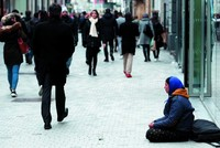 EU capital Brussels sees rising number of beggars