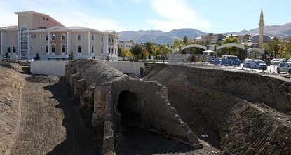 pOne of the four historical doors of Turkey's eastern Erzurum province has been unearthed, after years of restoration works initiated by the governor, reports said Tuesday./p  pErzurum's...