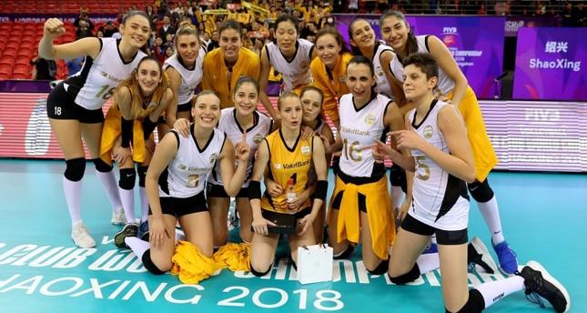وقف بنك التركي يتأهل لنهائي بطولة العالم للأندية النسائية للكرة الطائرة