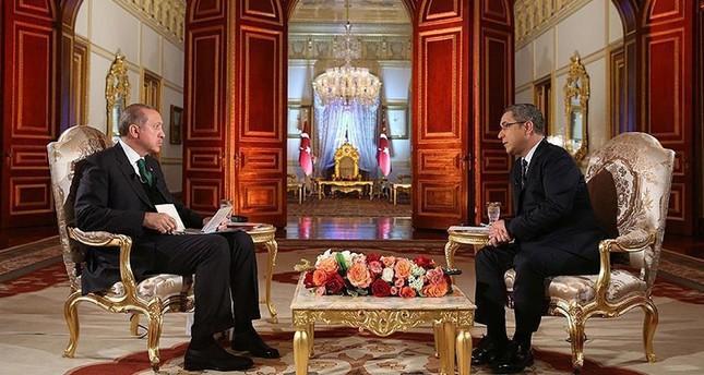 أردوغان: إرهابيو بي كا كا يلوحون بصور زعيمهم من سيارات الشرطة الألمانية