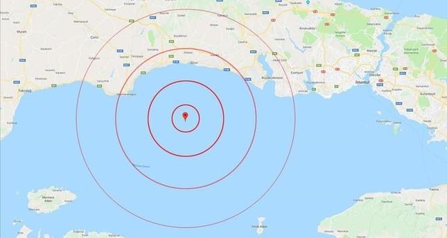 15 هزة ارتدادية تعقب زلزال إسطنبول