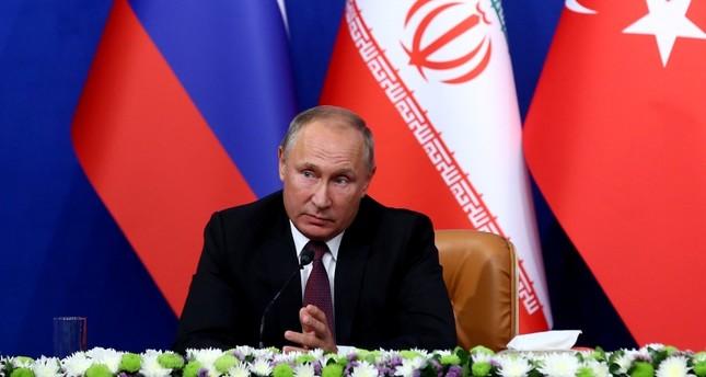 بوتين: أحرزنا تقدما بمسار الحل السياسي في سوريا بفضل الجهود المشتركة مع تركيا وإيران