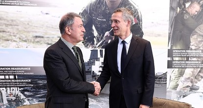pNATO's Secretary General Jens Stoltenberg apologized to Chief of Staff Hulusi Akar in a meeting held in Canada's Halifax over the enemy chart incident, in which President Recep Tayyip Erdoğan and...