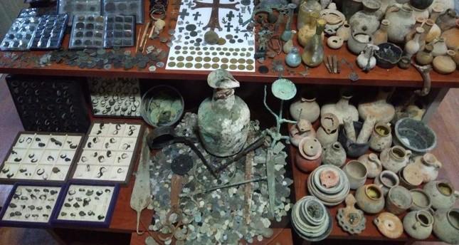 Thousands of historic artifacts seized in Turkey's Kütahya