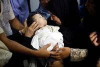 Israel tötet - Palästinenser demonstrieren