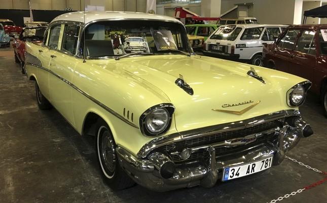 1957 Chevrolet Belair that belonged to late actor Sadri Alışık.