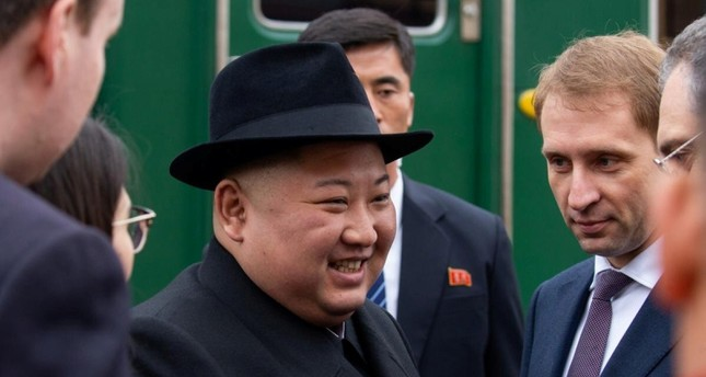 Kim arrives in Russia before summit with Putin