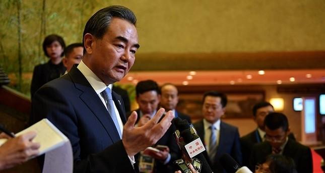 وزير الخارجية الصيني وانغ يي  (وكالة الأنباء الفرنسية)