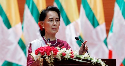 pAung San Suu Kyi and her government are burying their heads in the sand over the violence in Rakhine state, Amnesty International said Tuesday, criticizing Myanmar's leader for failing to condemn...