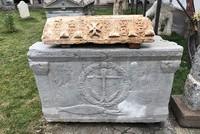Stone relief of Prophet Daniel identified in central Turkey's Konya