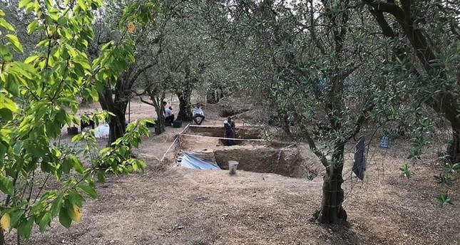 تركيا.. العثور على قبر روماني مصنوع من القرميد