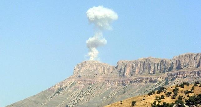 طائرات حربية تركية تقصف 15 موقعاً تابعة لـ بي كا كا