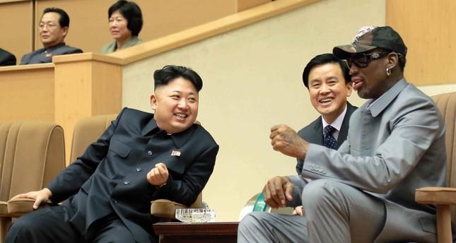 Former NBA player Dennis Rodman returns to North Korea