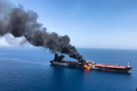 Two tankers damaged in suspected attack off UAE coast