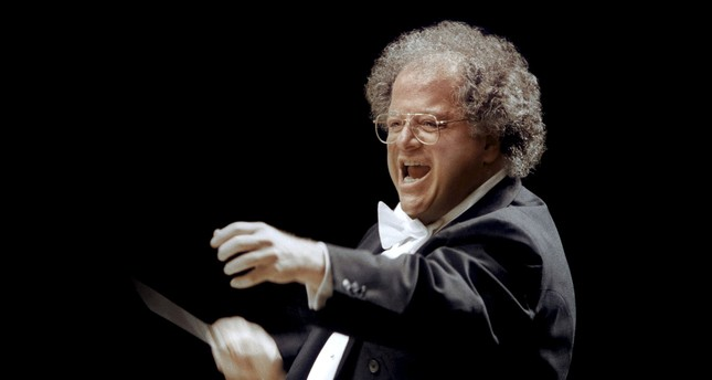 Metropolitan Opera (MET) musical director James Levine is shown in Japan in this 2001 photo provided by the MET April 14, 2016. (REUTERS Photo)