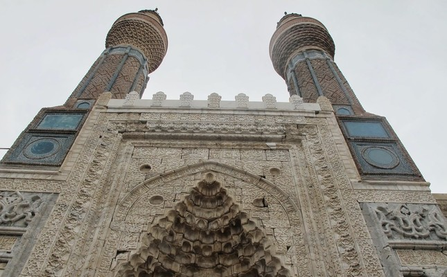 Gökmedrese (Blue  Madrasah) takes its name from its blue tiles.