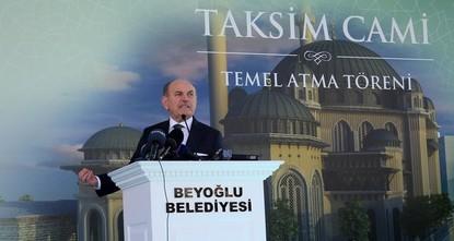 pNach einer jahrzehntelangen Kontroverse ist in Istanbul der Grundstein für eine neue Moschee am symbolträchtigen Taksim-Platz gelegt worden./p  pIstanbuls Bürgermeister Kadir Topbaş sagte am...