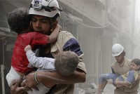 Biggest prize for us is peace, say White Helmets members