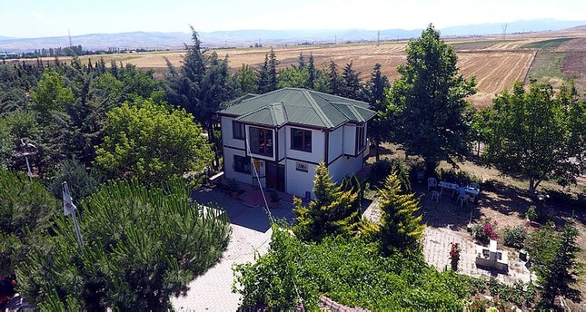 Landfill transformed into botanical garden in Turkey's Amasya
