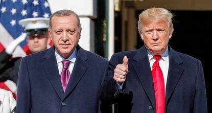 أردوغان لترامب: الذين تصفهم بالأكراد هم ب ي د/ بي كا كا الإرهابي