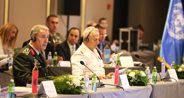 رئيس الأركان التركي يشارك في مؤتمر عسكري لدول البلقان