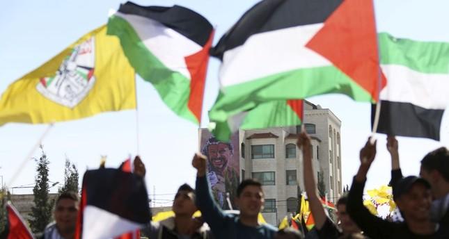 افتتاح أعمال مؤتمر حركة فتح السابع