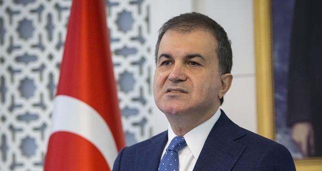 EU Minister Ömer Çelik (AA Photo)
