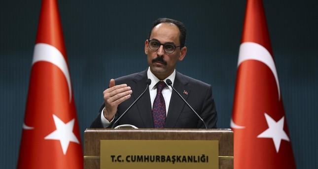 الرئاسة التركية: تقرير البرلمان الأوروبي منحاز وفي حكم العدم